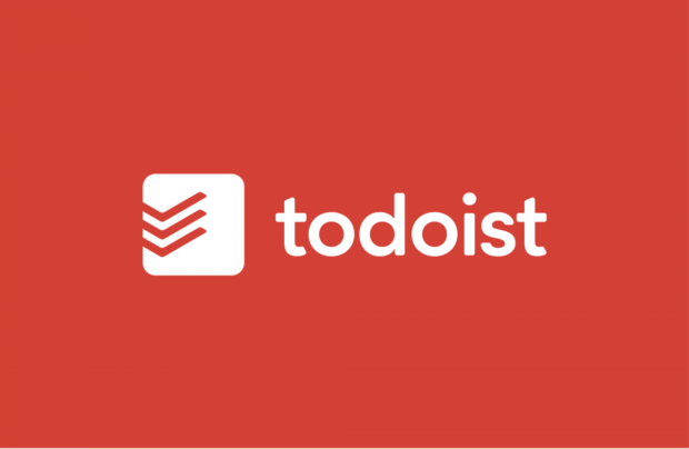 Image of the Todoist app with link to their website