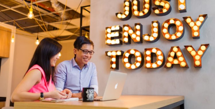 Image of coworking space in Asia