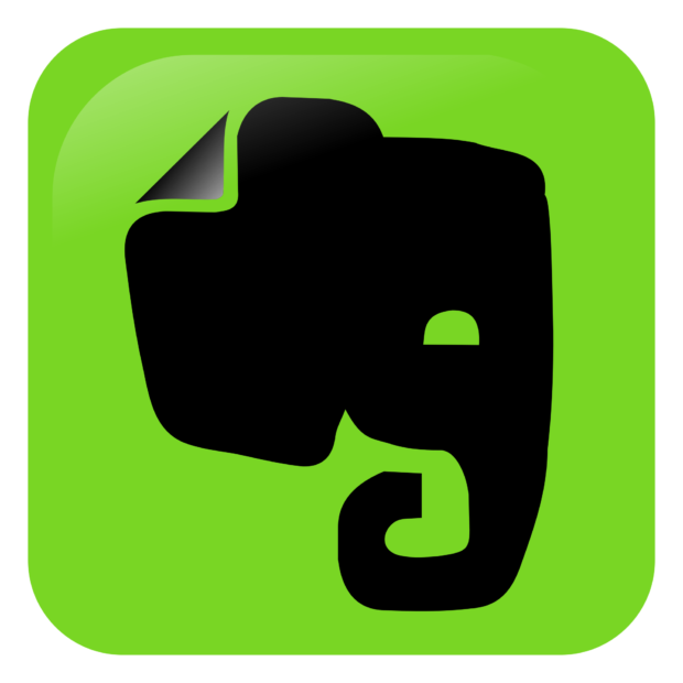 Image of the EverNote application for Android and iOs - one of my top apps of choice.
